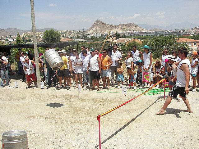 II Concurso de Lanzamiento de Barril, en las fiestas de El Hurtado - 1, Foto 1