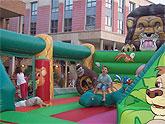 Semana de actividades infantiles en la Plaza de la Balsa Vieja