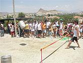 II Concurso de Lanzamiento de Barril, en las fiestas de El Hurtado