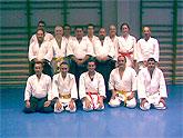 Cinco alumnos del Club de Aikido superan los exámenes para cinto amarillo y naranja.