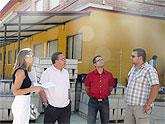 El alcalde ha visitado hoy viernes, 25 de julio las obras de mejora y mantenimiento en los colegios públicos San Antonio, San Miguel y de la escuela infantil La Inmaculada