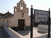 Obras de rehabilitación en la ermita de Nuestra Señora del Rosario de El Paretón