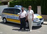 Un vehículo policial con radar controlará los excesos de velocidad en el municipio