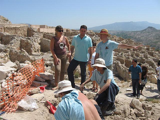 Jóvenes de Europa y Asia participan en el campo de trabajo de arqueología de Cieza - 1, Foto 1