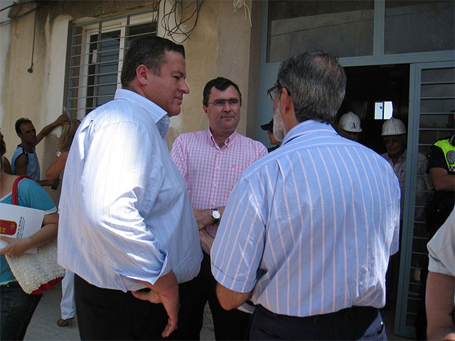 El consejero de Obras Públicas anuncia en La Unión el inicio de las actuaciones de la segunda fase de regeneración del barrio de San Gil - 2, Foto 2