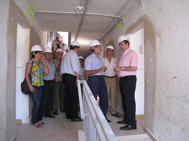 El consejero de Obras Públicas anuncia en La Unión el inicio de las actuaciones de la segunda fase de regeneración del barrio de San Gil - 3, Foto 3