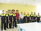 Entregadas las armas reglamentarias a los nuevos agentes de la Policía Local