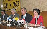 García suscribe tres acuerdos de colaboración con el Ministerio de Industria para el impulso de la Sociedad de la Información en la Región