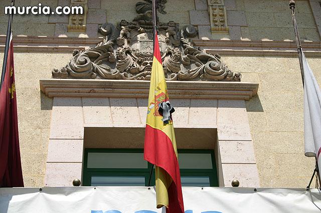 El alcalde declara tres días de luto oficial en el municipio por el fallecimiento del cabo de la Polícia Local Alfonso Murcia Rodríguez en un acto de servicio - 1, Foto 1