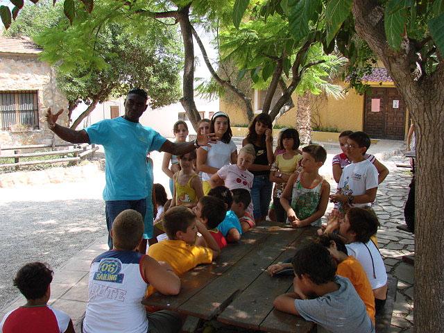 Los niños y niñas mazarroneros acampan en la granja escuela 'La Loma' - 1, Foto 1
