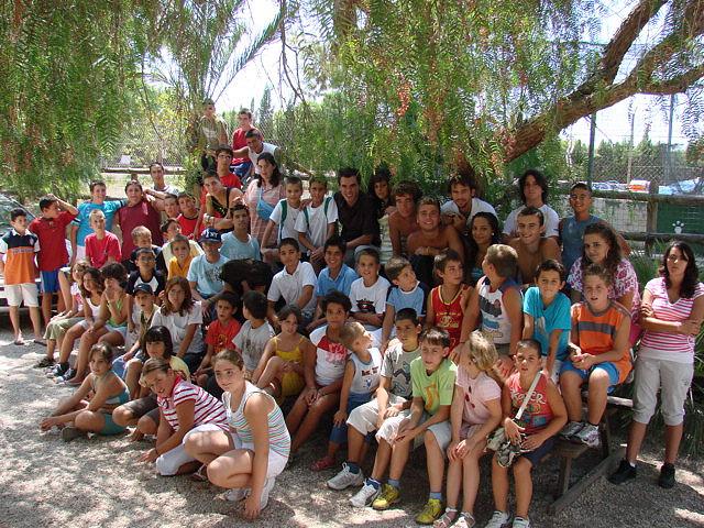 Los niños y niñas mazarroneros acampan en la granja escuela 'La Loma' - 2, Foto 2