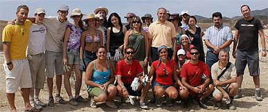 Los integrantes del Campo de Trabajo Internacional realizan labores arqueológicas en el Castillo de Nogalte desde el 4 al 18 de agosto