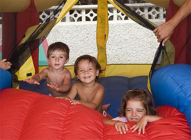 Los pequeños gozan del tiempo libre en Mazarrón, Foto 1