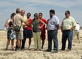 Veinte jóvenes de Europa y Asia participan en labores arqueológicas en el Campo de Trabajo Internacional de Puerto Lumbreras