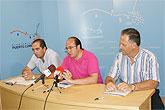 Ayuntamiento, Aseplu y Entidad de Conservación del Polígono Industrial firman un convenio para la promoción empresarial, comercial y turística del municipio