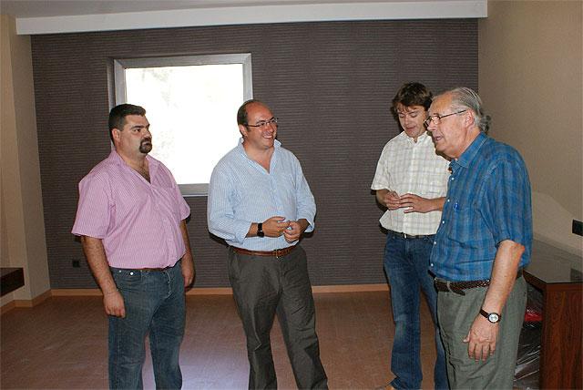 El Alcalde de Puerto Lumbreras visita las obras del nuevo Hotel Riscal - 1, Foto 1