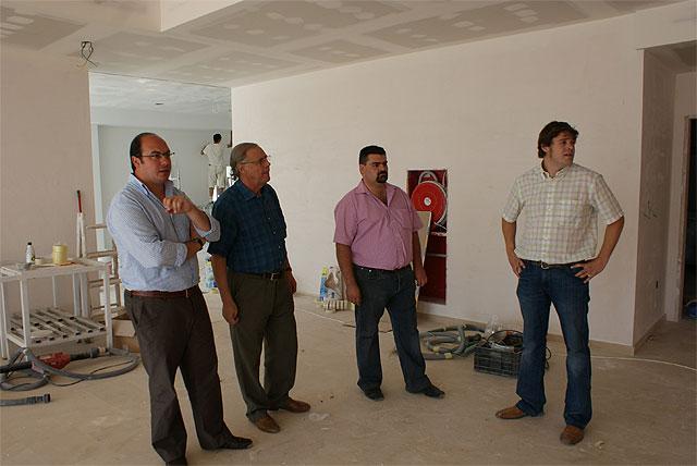 El Alcalde de Puerto Lumbreras visita las obras del nuevo Hotel Riscal - 4, Foto 4