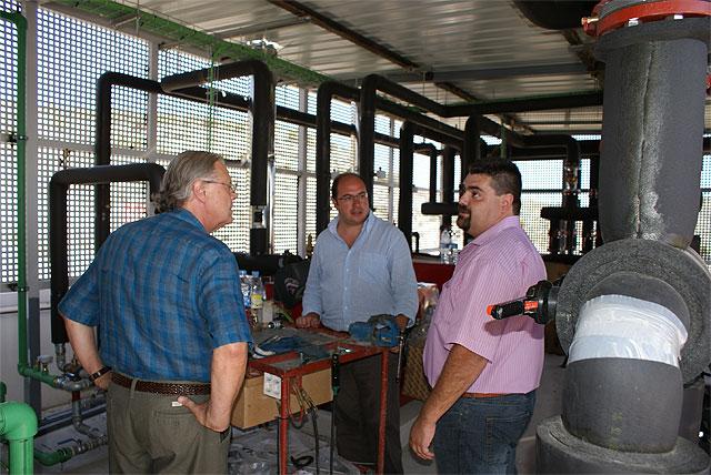 El Alcalde de Puerto Lumbreras visita las obras del nuevo Hotel Riscal - 5, Foto 5