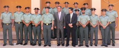 González Tovar destaca los incrementos de efectivos en los cuarteles de la Guardia Civil de San Pedro del Pinatar y Cabo de Palos