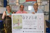 Puerto Lumbreras tiene número propio, el 07758, de la Lotería Nacional