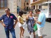 """300 ciudadanos apoyan el """"Manifiesto por la Lengua Común"""" en Puerto Lumbreras"""
