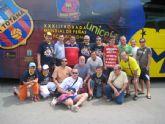 Autobus solidario de la XXXII trobada mundial de peñas del FC Barcelona