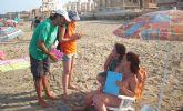 La concejalía de Medio Ambiente pone en marcha una campaña divulgativa y de concienciación en las playas del municipio