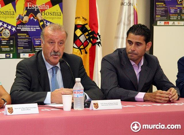 Del Bosque: Bojan es jugador nuestro y se siente identificado con España - 1, Foto 1