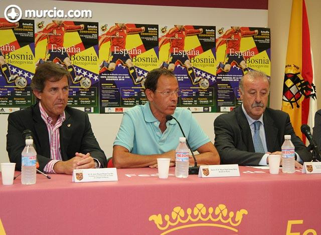 Del Bosque: Bojan es jugador nuestro y se siente identificado con España - 3, Foto 3