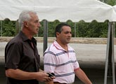 Rafael Gómez pasa revista a los recintos de la Feria