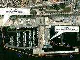Travesía a nado por el puerto de Cartagena