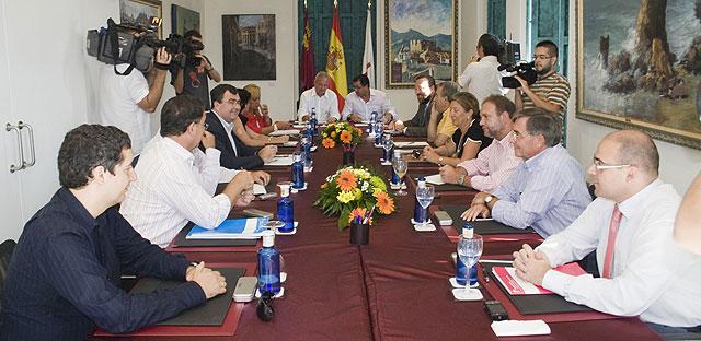 El Gobierno de la Región al completo en Mazarrón, Foto 2