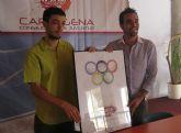 Gabriel García gana el concurso del cartel de la campaña contra el SIDA 2008