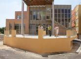 El Alcalde visita las obras del Centro de Estancias Diurnas de Puerto Lumbreras