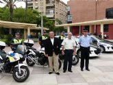 La Policía Local de Molina de Segura pone en funcionamiento seis nuevos vehículos destinados a la Unidad de Tráfico
