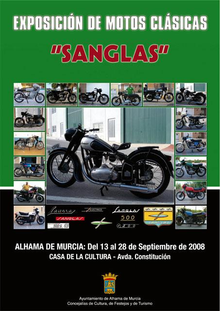 """La Casa de la Cultura acoge la exposición de motos clásicas """"Sanglas"""", Foto 1"""