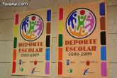 """El programa de """"Deporte escolar 2008/09"""" ofertará a partir del 1 de octubre actividades gratuitas durante todo el año"""