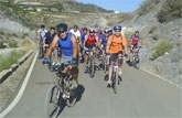 Arranca el programa de bicicleta de montaña organizado por la Concejalía de Deportes con la salida por la Rambla de los Bueyes
