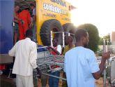 El ayuntamiento de San Javier contribuye con el proyecto En Ruta Solidaria que el próximo 5 de octubre partirá hacia Mauritania con varias toneladas de ayuda humanitaria