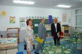 """Medina Precioso inaugura las últimas reformas llevadas a cabo en los colegios """"Cervantes"""" y """"San José"""""""