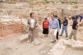 Visita a las excavaciones arqueológicas del Cerro del Molinete