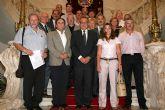 Directivos de la Federeración de Asociaciones de Gestores del Deporte de España participan en unas jornadas técnicas en Cartagena
