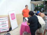 UPyD recoge firmas en Mazarr�n en favor del Manifiesto por la lengua com�n