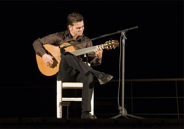 La guitarra española y la danza inundan de arte el Castillo de los Vélez, Foto 1