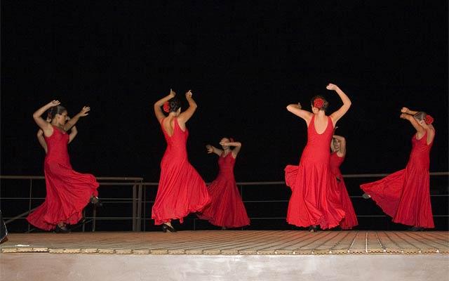 La guitarra española y la danza inundan de arte el Castillo de los Vélez, Foto 2