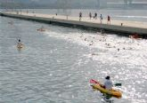 Doscientos nadadores participaron en la XVII Travesía a Nado al Puerto de Cartagena
