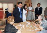 El consejero de Política Social inaugura el Centro de Estancias Diurnas de Alcantarilla