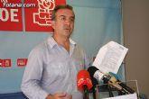 """""""Los socialistas no seremos cómplices de los manejos del alcalde, y no acudiremos a la Junta de Portavoces"""""""