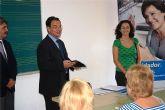 El consejero de Política Social inaugura en Alcantarilla el I Curso para Cuidadores de Personas Dependientes
