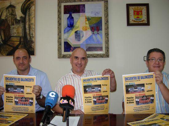 Alhama acoge el encuentro de baloncesto entre C.B. Murcia y C.B. Granada, Foto 2
